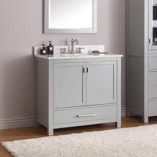 Avanity Modero Grey Vanity Combo (Option: Tan)