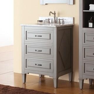 Avanity Kelly Grey/ Blue 24-inch Vanity Combo (3 options available)