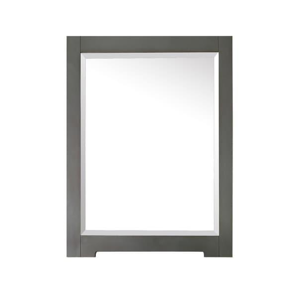 """Avanity Kelly 24 in. Wall Mirror - Grey/Blue - Grayish Blue - 24""""W x 32""""H"""