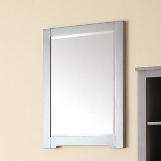 Avanity Kelly Greyish Blue 24-inch Mirror - Grayish Blue - 24-in