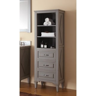 Avanity Kelly Grey/ Blue 22-inch Linen Tower