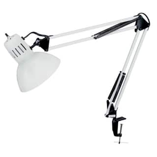 Glossy White Clamp-on Spring Balanced Desk Lamp|https://ak1.ostkcdn.com/images/products/9378828/P16569210.jpg?impolicy=medium