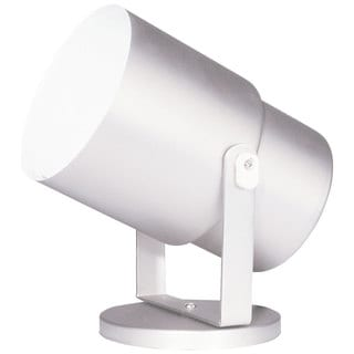 Gloss White Single-light Wall/ Ceiling Spot Light or Floor Pod