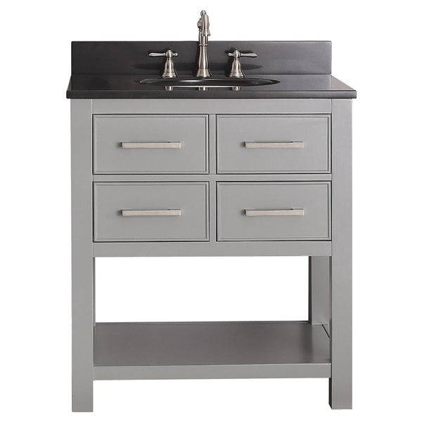 Avanity Brooks Chilled Grey 30 Inch Vanity Combo
