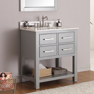 Avanity Brooks Chilled Grey 30-inch Vanity Combo