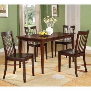 Modern Cherry Rectangular Wooden Dining Table