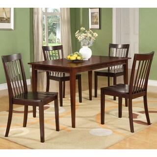 Modern Cherry Rectangular Wooden Dining Table