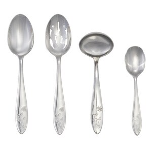 Lenox Butterfly Meadow 4-piece Stainless Flatware Hostess Set