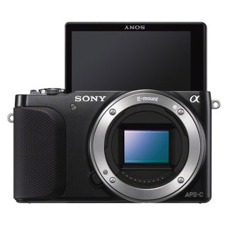 Sony DSLR-NEX3 16.3MP Black Digital Camera (Body Only)