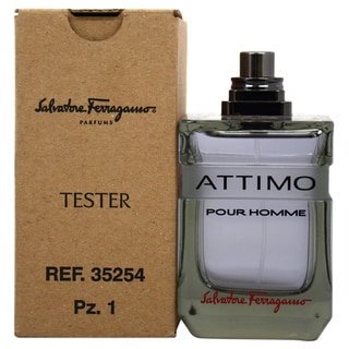 Salvatore Ferragamo Attimo Men's 3.4-ounce Eau de Toilette Spray (Tester)