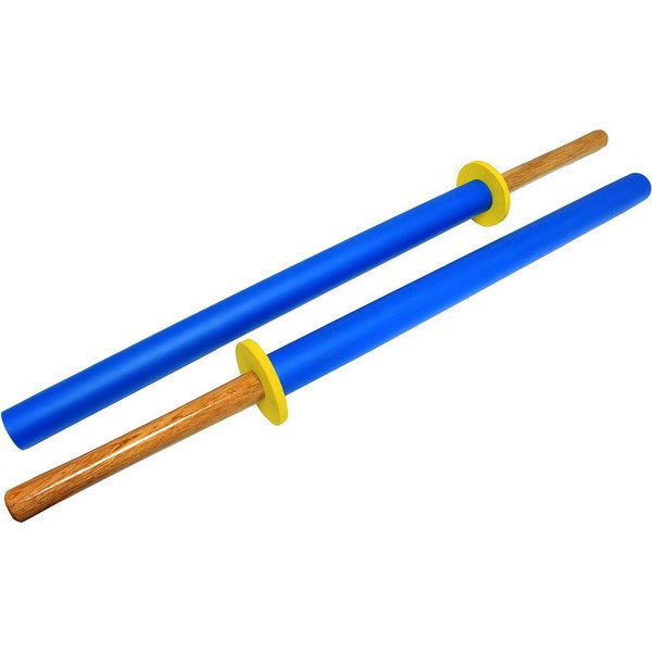 35-inch Hard Wood Practice Swords Set (Set of 2)