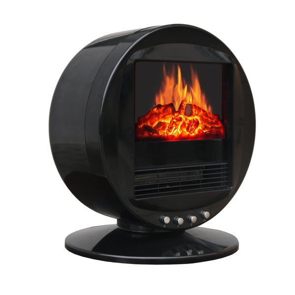Shop Corliving Desktop Fireplace And Space Heater Free