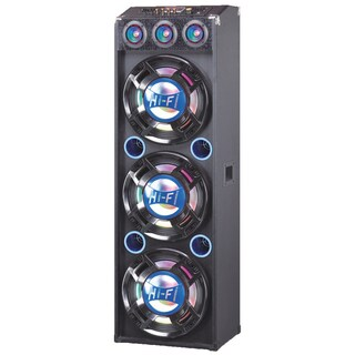 QFX Pro Audio SBX-412300BT Speaker System - Wireless Speaker(s) - Blu