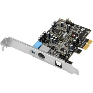 SIIG Dual Profile Dolby Digital 5.1 24-bit surround sound card with S