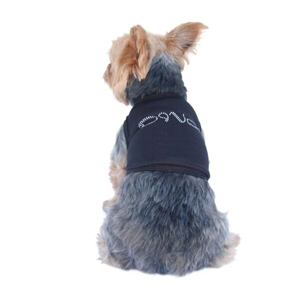 Shop anima pet dog puppy clothes summer tee t shirt diva rhinestone tank top free shipping on - Diva pants ebay ...