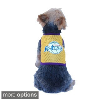 Anima Pet Puppy Dog LA Logo Basketball Jersey Clothes Apparel