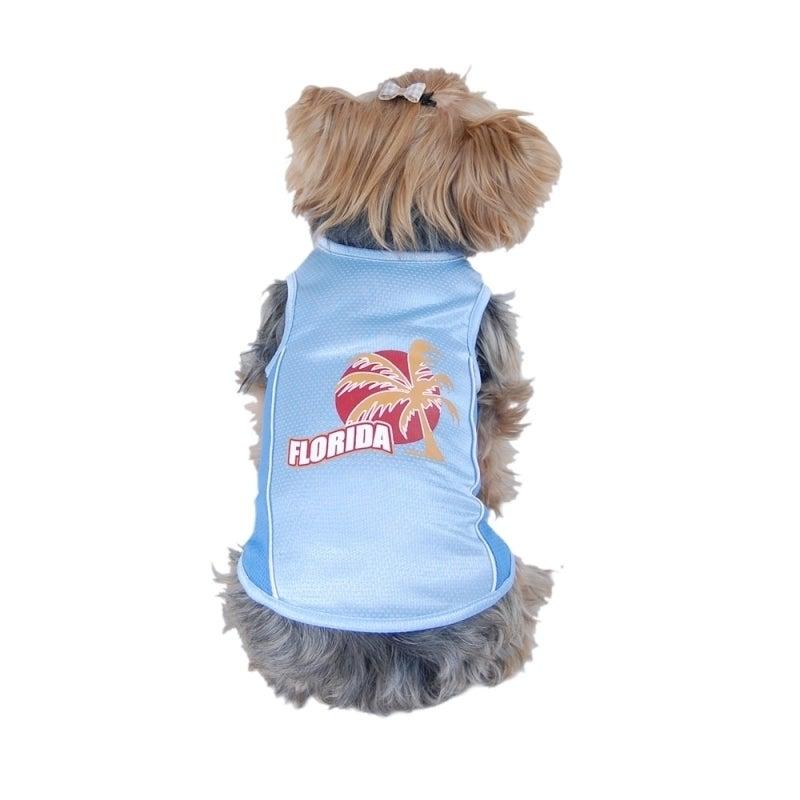 ANIMA Pet Dog Puppy Summer Clothes Florida Sporty Cotton ...