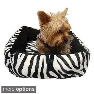 Anima New Cotton Pet Dog Soft Fleece Warm Bed Puppy House Nest with Plush Mat Pad