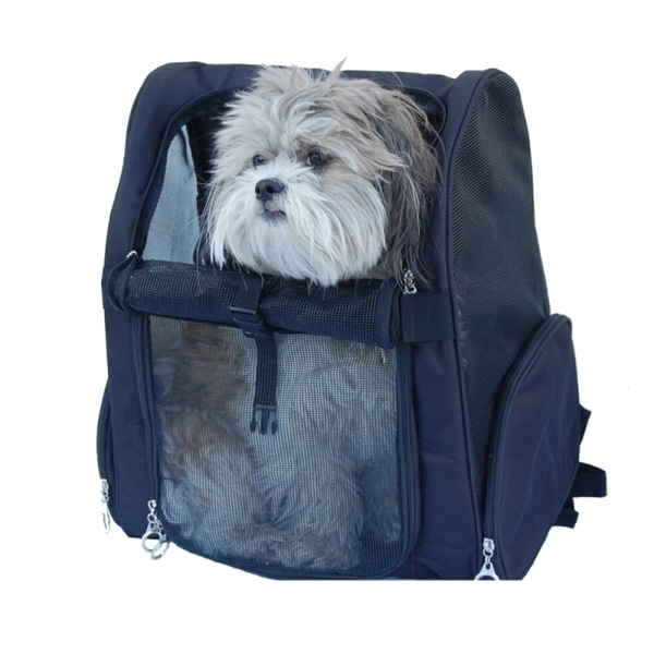 how to turn a backpack into a dog carrier