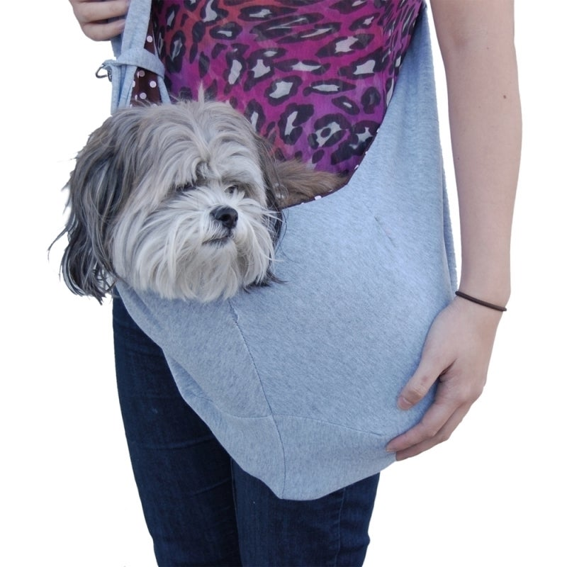 Insten Anima Blue Denim Sling Style Pet Carrier (Pink One...