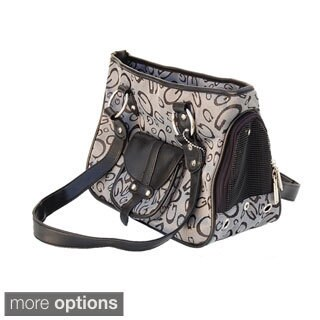 Insten G Print Design Zippered Tote Style Pet Carrier