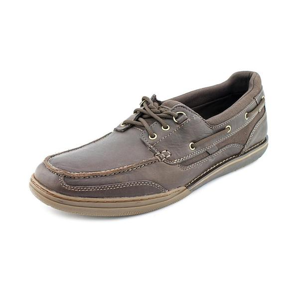 rockport s mc 3 boat shoe leather casual shoes size