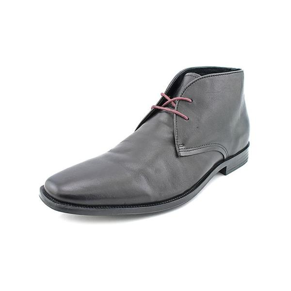 Aston Grey Collection Men's 'Hale' Leather Boots (Size 10 ) - Free ...