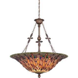 Quoizel Quiozel Jewel Dragonfly 6-light Malaga Pendant
