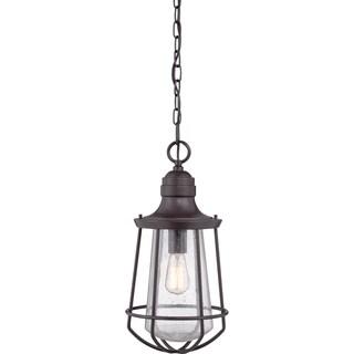 Quoizel Marine Western Bronze Large 1-light Hanging Lantern