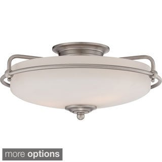 Quoizel Griffin 3-light Large Floating Flush Mount