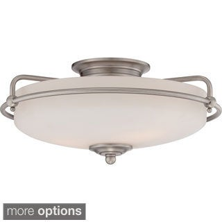 Griffin 3-light Large Floating Flush Mount