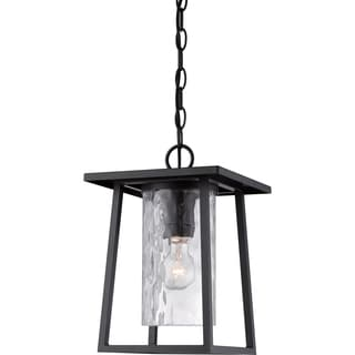 Quoizel Lodge Mystic Black Large Hanging Lantern