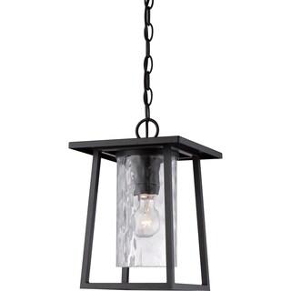 Quoizel Lodge Mystic Black Large Hanging Lantern