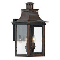 Quoizel Chalmers Outdoor Copper Fixture