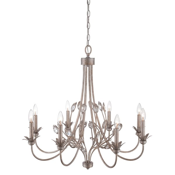 Quoizel Wesley 8-light Italian Fresco Chandelier