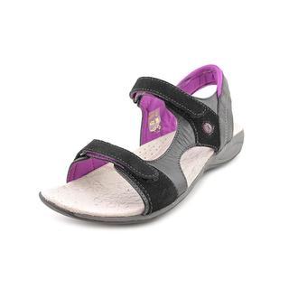 Hush Puppies Women's 'Zendal Qtr Strap' Leather Sandals