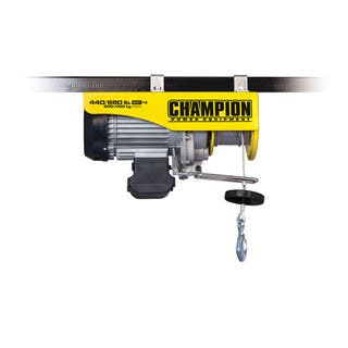 Champion Power Equipment 18890 Remote Control Electric Hoist Winch|https://ak1.ostkcdn.com/images/products/9384154/P16573925.jpg?impolicy=medium