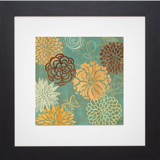 Rebecca Lyon 'Floral Soiree II' Framed Artwork
