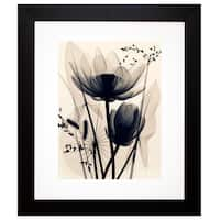 McMillan 'Lotus and Grasses' Framed Artwork