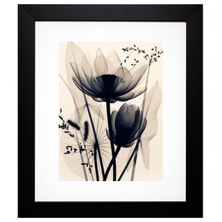 McMillan 'Lotus and Grasses' Framed Artwork
