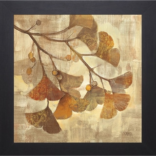 Hristova 'Gingko' Framed Artwork