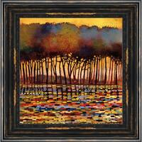 Smith 'Dash of Energy' Framed Artwork - Red