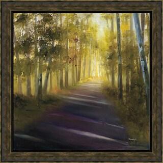 Condrat 'Walk Away' Framed Artwork