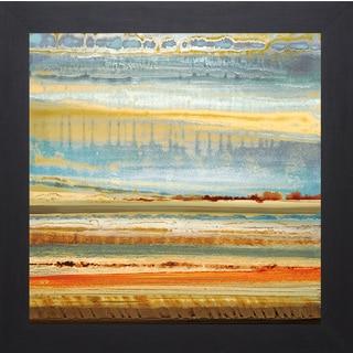 Rodriguez 'Earth Layers I' Framed Artwork