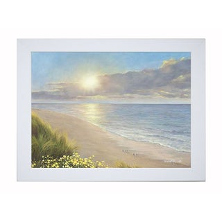 Romanello 'Beach Serenity' Framed Artwork