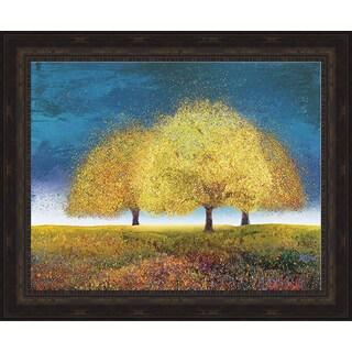 Graves-Brown 'Dreaming Trio' Framed Artwork