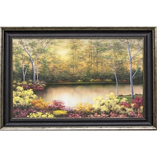 Romanello 'Bursting in Autumn' Framed Artwork