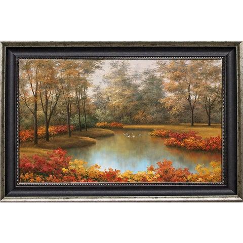 Romanello 'Beauty of Autumn' Framed Artwork - Multi