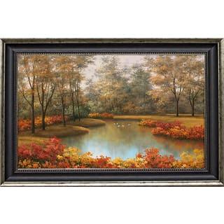 Romanello 'Beauty of Autumn' Framed Artwork https://ak1.ostkcdn.com/images/products/9384360/P16574218.jpg?impolicy=medium