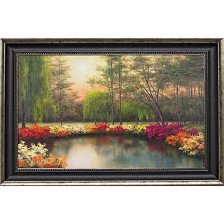 Romanello 'Autumn Sunset ' Framed Artwork